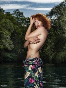 Jess à la rivière