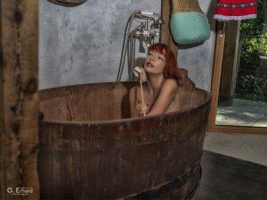 Jess au bain