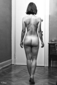 Nu photo noir et blanc